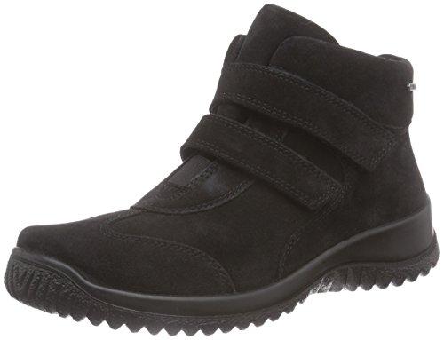 Legero SOFTBOOT HALB, Sneaker alta donna, Nero (Nero (Nero 00)), 37