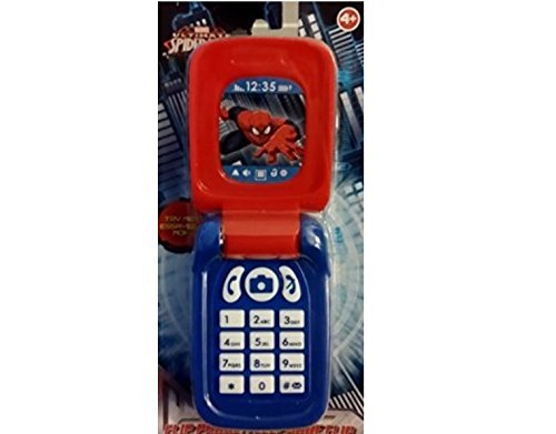 Marvel Spiderman Flip Phone - 1