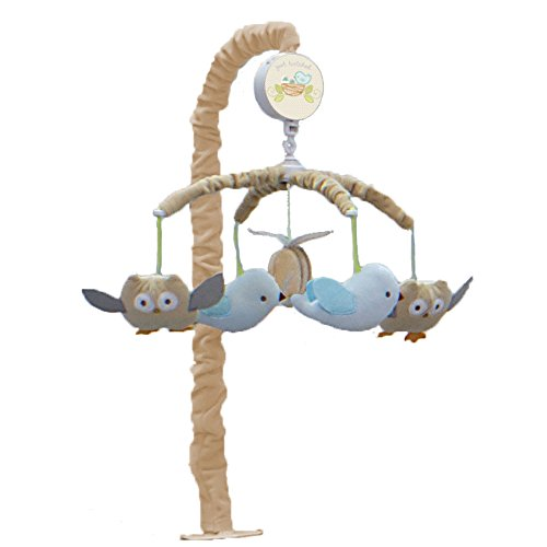 Nurture Imagination Baby Musical Mobile, Nest