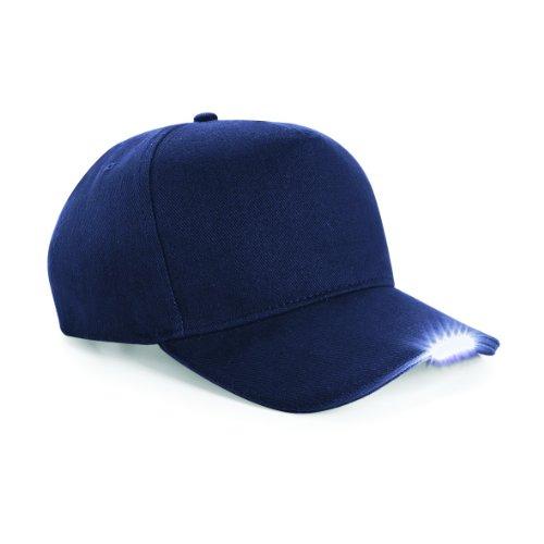 Beechfield Led Light Baseball Cap (One Size) (French Navy)
