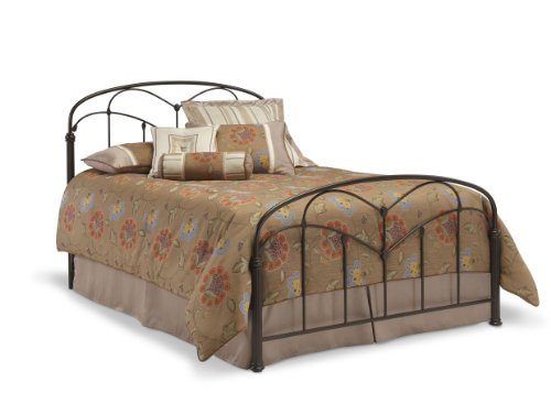 Leggett & Platt Fashion Bed Group Pomona Hazelnut Bed Frame, Queen, Brown