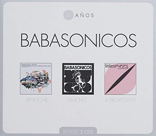CD : BABASONICOS - 25 Anos (3 Discos)
