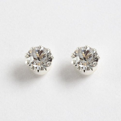 Fine Delicate Tiffany Stud Earrings (E50)