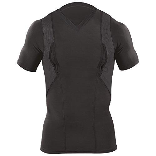 5.11 Tactical Holster V-Neck Shirt, Black, Large
