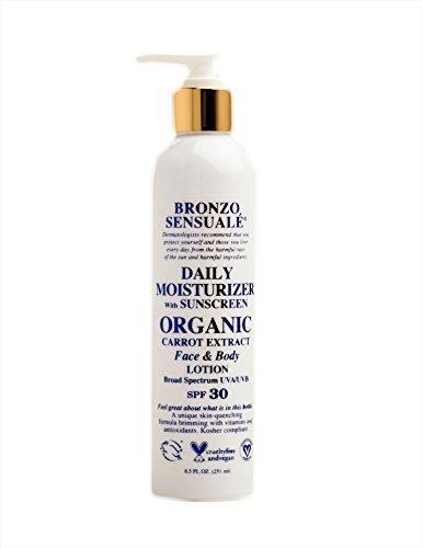bronzo-sensualacar-daily-moisturizer-lotion-with-spf-30-sunscreens-85-oz-with-pump-crema-hidratante-