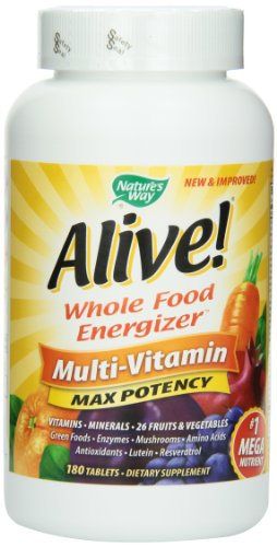 Way Alive Nature! Max puissant de multivitamines,