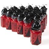 12 Ladybug Bubble Bottles