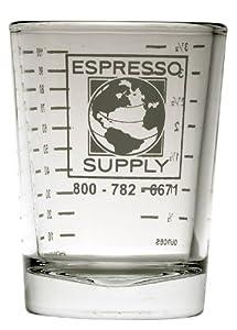 Espresso Supply 4-Ounce Logo Shot Glass