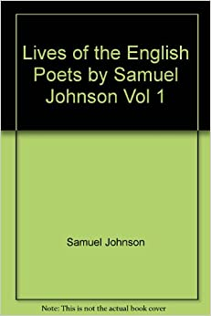 Samuel johnson lives of the poets text