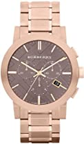 Burberry BU9353 Watch City Mens - Brown Dial Stainless Steel Case Quartz Movement
