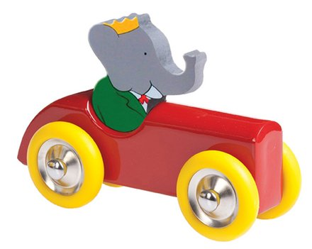 Schylling Babar Wooden Car