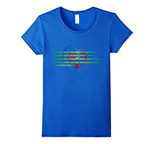 Women's  #WorldSuicidePreventionDay. XL Royal Blue