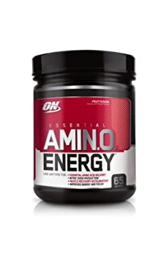 Optimum Nutrition Amino Energy 65 Servings Fruit Fusion 585 Grams by Optimum Nutrition