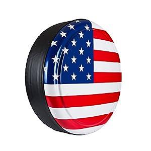 """315 70r17 In Inches >> Amazon.com: 28"""" Rigid Tire Cover - (Hard Plastic Face ..."""