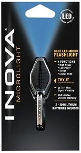 Inova CB-W Translucent Microlight, White LED and Black Grip