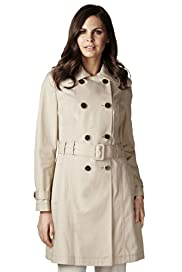 Per Una Pure Cotton Belted Trench Mac