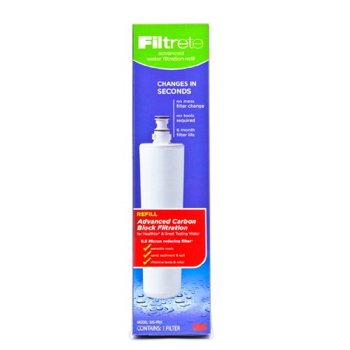 Filtrete Under-Sink Advanced Replacement Water Filter (3US-PF01)