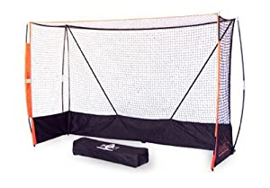Bow Net Portable Indoor Field Hockey Net, 6-Feet 6-Inch x 9-Feet 9-Inch x 3-Feet... by Bow Net