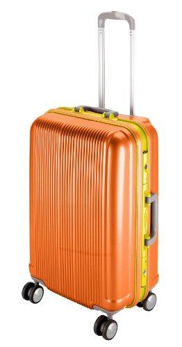 キャプテンスタッグ(CAPTAIN STAG) グレル トラベルスーツケース TSAロック付きHFタイプ M サンセットオレンジ UV-20