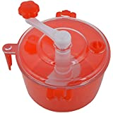 DeoDap Plastic Manual Atta Maker, 20 cm, 6 Piece, Red  free shipping  available at Amazon for Rs.225