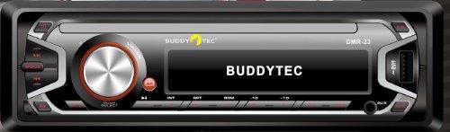 Deckless RDS-Autoradio mit USB+SD/MMC+Aux-In-MP3/WMA-4x25W-Buddytec