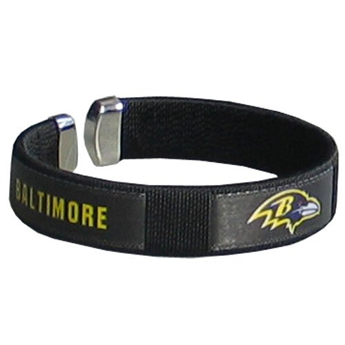 NFL Baltimore Ravens Fan Band Bracelet