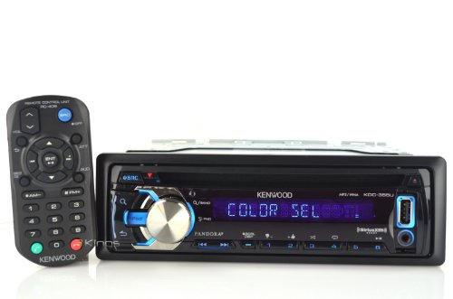 Kenwood KDC-355U Car Stereo MP3/CD Receiver With