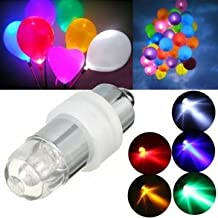 Mini Waterproof LED Balloon Light Bulb Colorful Wedding Birthday Party Décor-blue