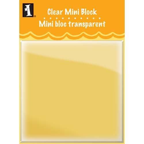 Inkadinkado Fall Mini Clear Block Stamp