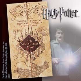 Harry Potter Marauders Map (Deathly Hallows Merchandise compare prices)