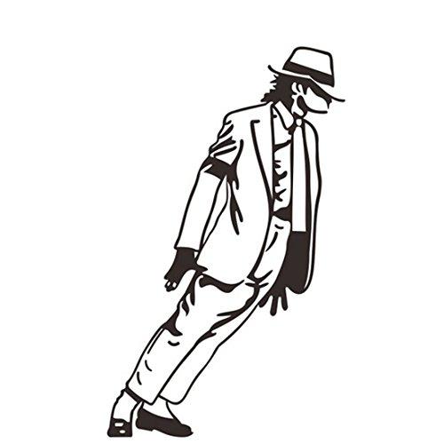michael-jackson-tanzen-vinyl-kunst-wand-aufkleber-abziehbild-wand-diy-schwarze-wasserdichte-zimmer