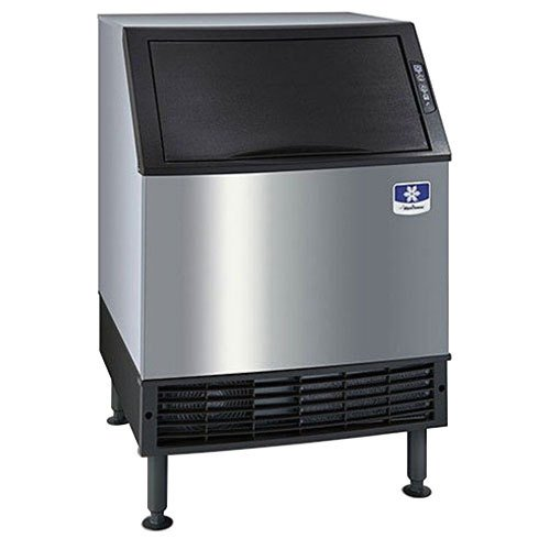 120V Manitowoc Uy-0240A Neo Undercounter Half Cube Ice Machine Air Cooled - 225 Lb.