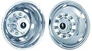 2005-2012 Ford F450 F550 19.5″ Chrome Wheel Simulators