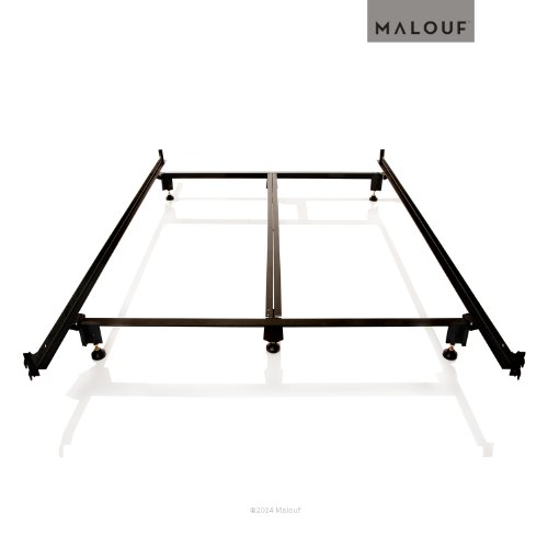 Nice STRUCTURES by Malouf STEELOCK Headboard Footboard Hook In Super Duty Steel Wedge Lock Metal Bed Frame Functions as Bed Rails LIFETIME WARRANTY Best Buy