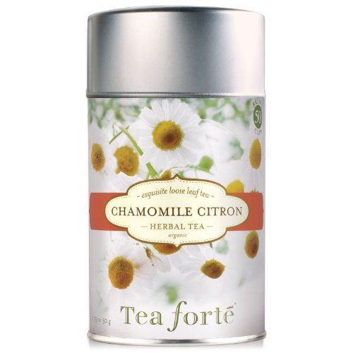 Tea Forte Loose Leaf Tea Canister-Chamomile Citron
