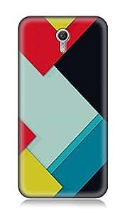Worldwide Phone Case For Lenovo Zuk Z1 (Multicolor)