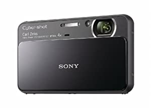 Sony Cyber-Shot DSC-T110 16.1 MP Digital Still Camera with Carl Zeiss Vario-Tessar 4x Optical Zoom Lens and 3.0-inch Touchscreen (Black)