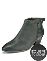 Limited Edition Sleek Biker Boots with Insolia Flex®