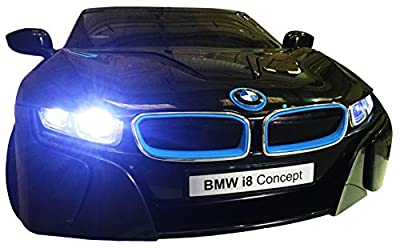 BMW LICENSED I8 CONCEPT KIDS RIDE ON ELECTRIC CAR - 12V TWIN MOTORS, mp3, remote