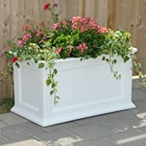 Clay 20 by 20-Inch Fairfield Patio Planter