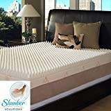 Slumber Solutions Highloft Supreme 4-inch Memory Foam Mattress Topper, Size Twin