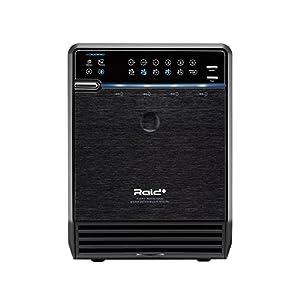 "Mediasonic HFR2-SU3S2 PRORAID 4 Bay 3.5"" SATA Hard Drive Enclosure - USB 3.0 & eSATA, Support SATA 3 6.0Gbps hard drive transfer rate from Mediasonic"