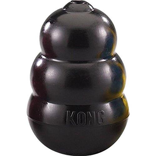 Cani Kong originale estrema Kong Chew giocattolo, grande, nero
