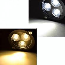 OBOSS 6W LED Lawn Light Lamp with Stake Spotlight IP65 Waterproof Outdoor Garden Pond Park Landscape