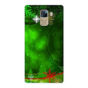Crismas Decor Back Case Cover for Huawei Honor 7