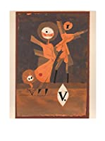 Especial Arte Lienzo Flower Family V - Klee Paul Multicolor