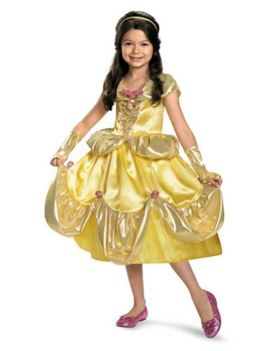 Baby-toddler-costume Belle Lame Deluxe Toddler Costume 3t-4t Halloween Costume