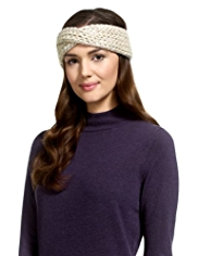 M&S Collection Knitted Sparkle Headband