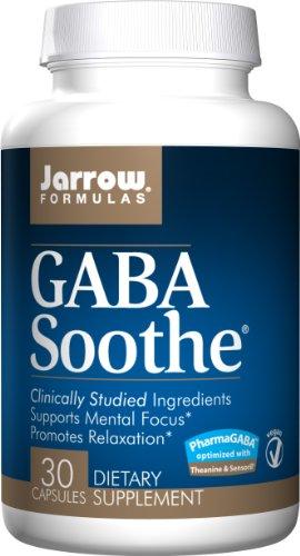 Jarrow Formulas Gaba Soothe, 30 Vcaps