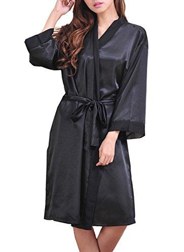 deley-donne-kimono-raso-seta-chiffon-elegante-affascinante-abiti-accappatoio-vestaglia-pigiami-loung